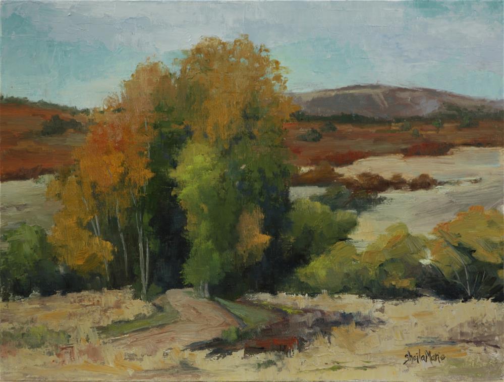 """The Road to Explore"" original fine art by Sheila Marie"