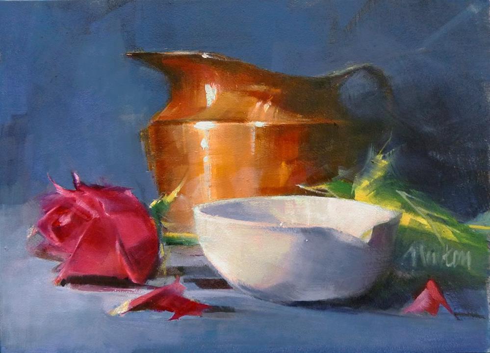 """Mother's Day"" original fine art by Barbara Benedetti Newton"