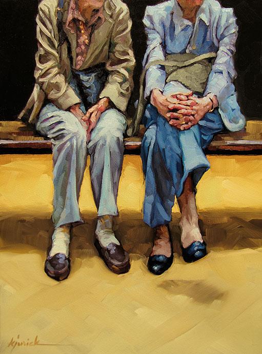 """Hands of Time"" original fine art by Karin Jurick"