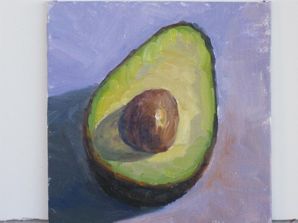 """Ranch Avo"" original fine art by Leigh Alexandra Sparks"