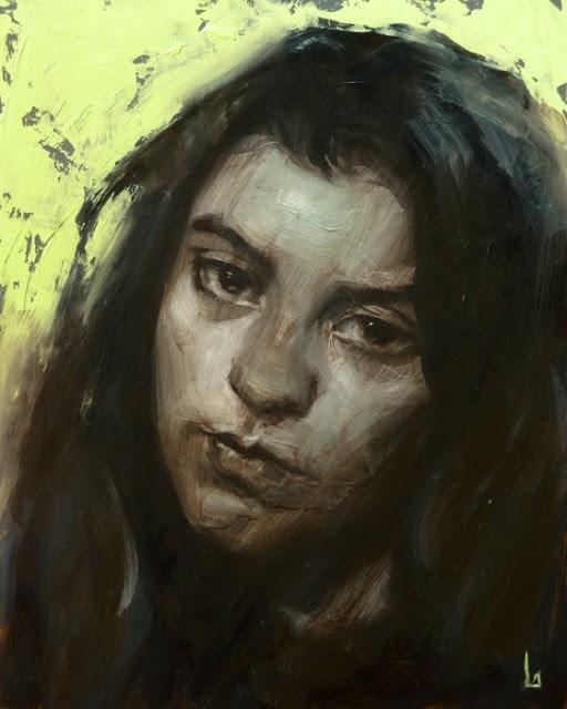 """Tarnish"" original fine art by John Larriva"