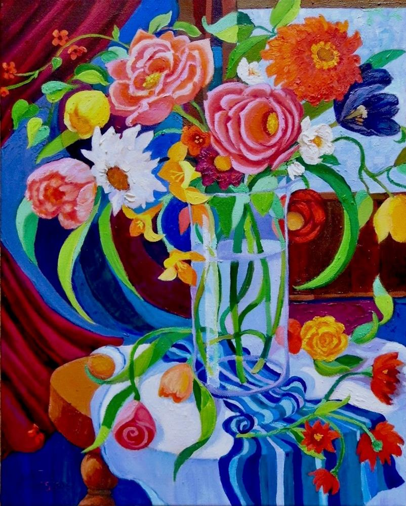 """Having Faith"" original fine art by Patricia Musgrave"
