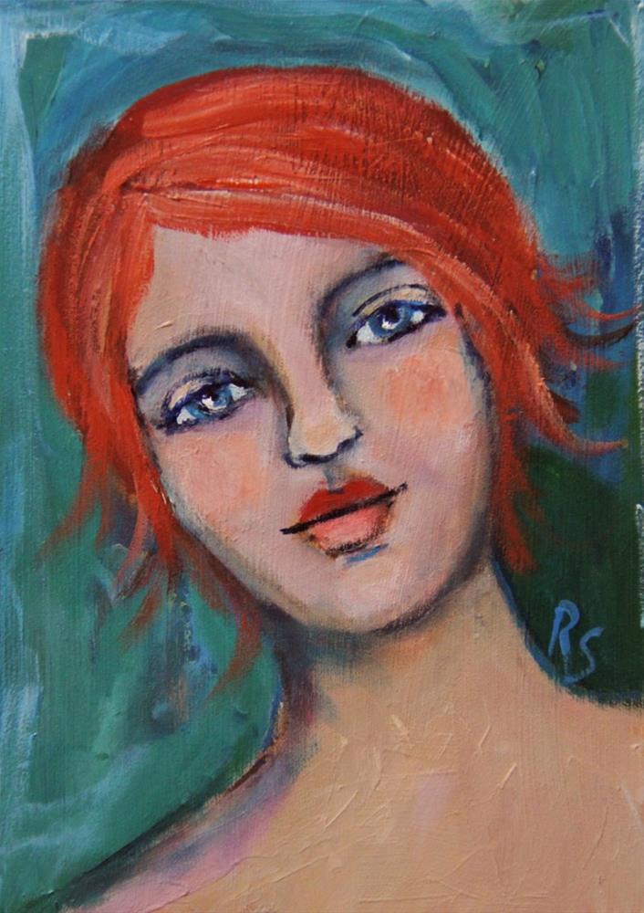 """Autumn"" original fine art by Roberta Schmidt ArtcyLucy"