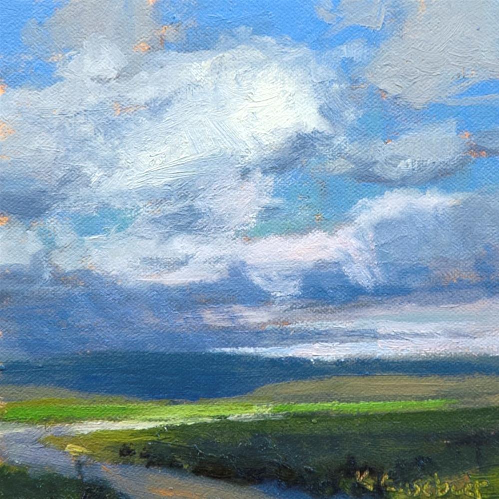 """Afternoon Front"" original fine art by Kim Casebeer"