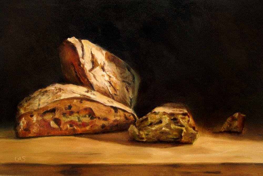 """Triangle Rolls"" original fine art by Ulrike Miesen-Schuermann"