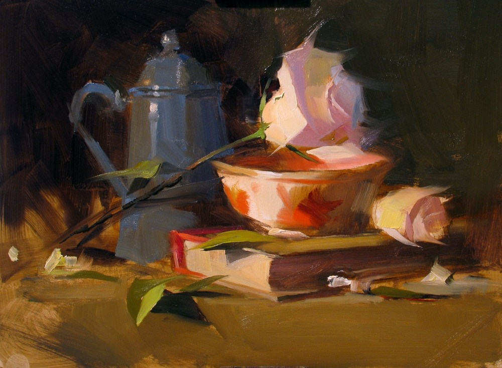 """""""Demo at Albany 2012_2 --- Sold"""" original fine art by Qiang Huang"""