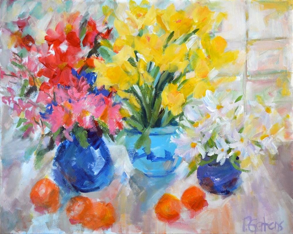 """""""Sunny Still Life"""" original fine art by Pamela Gatens"""