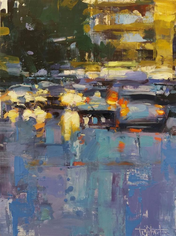 """Dense and wet"" original fine art by Víctor Tristante"