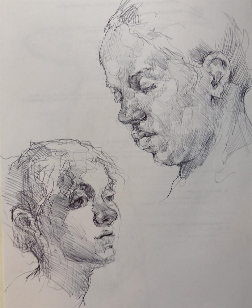 """sketchbook77"" original fine art by Katya Minkina"