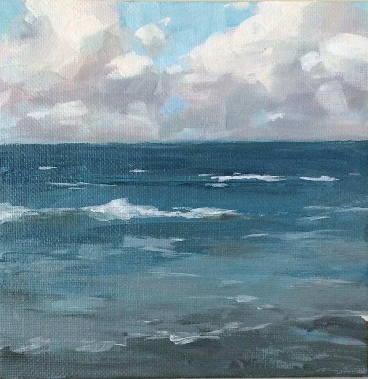 """""""Long Awaited"""" original fine art by Shannon Bauer"""