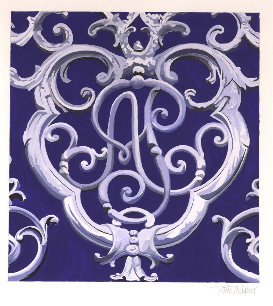 """Pontalba/Albanaster"" original fine art by Patti Adams"