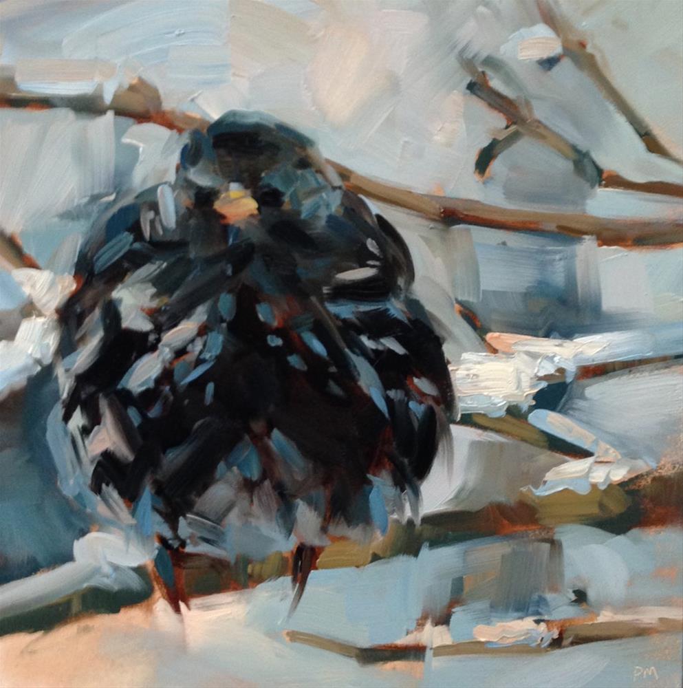 """Baby, It's Cold Outside"" original fine art by Patti McNutt"
