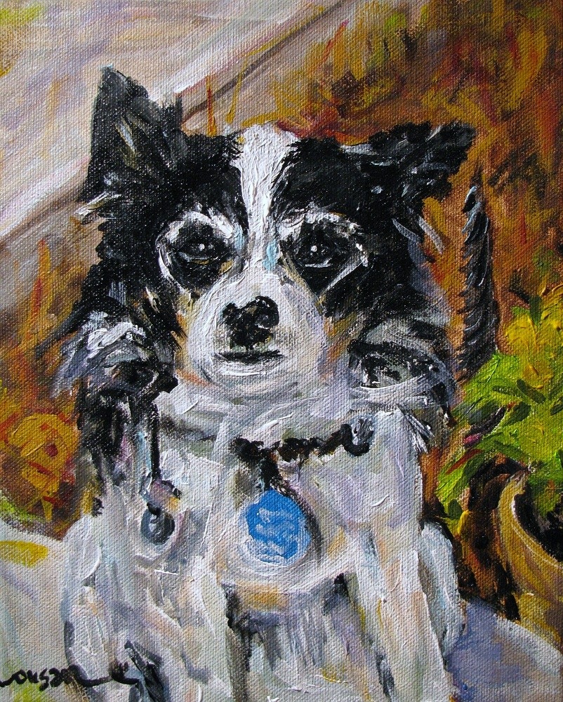 """Itsy"" original fine art by Susan Elizabeth Jones"