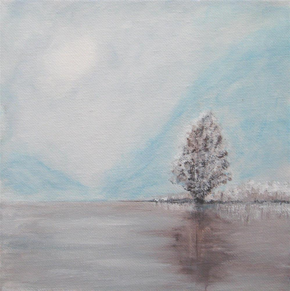 """Cold Day"" original fine art by Alina Frent"