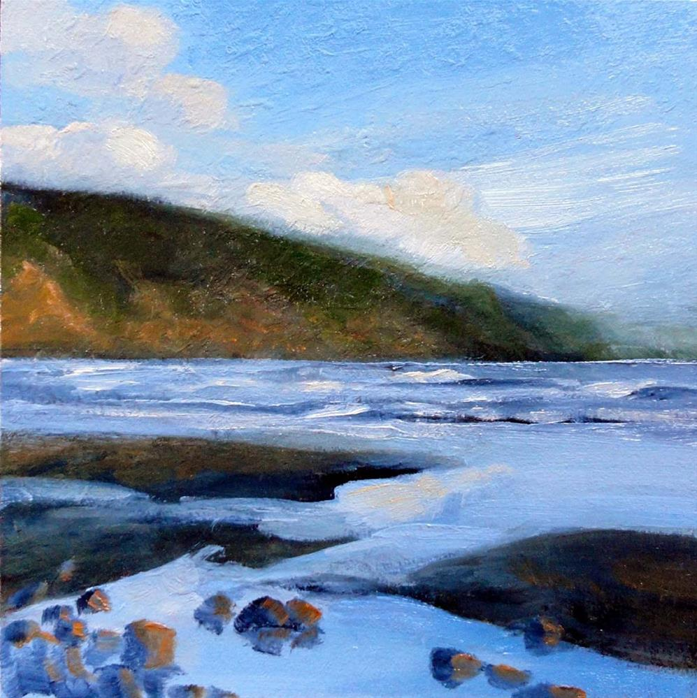 """Beach Reflections"" original fine art by Cietha Wilson"
