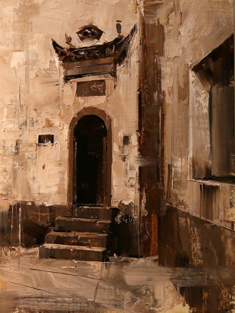 """Xidi Doorway 2"" original fine art by Qiang Huang"
