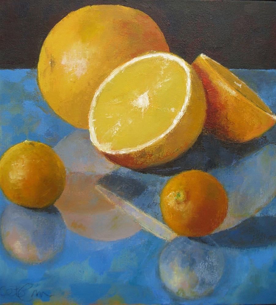 """Citrus Reflected"" original fine art by Kathy Broyles"
