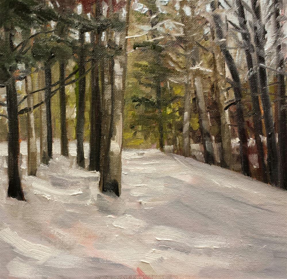 """""""Walk This Way"""" original fine art by Judith Fletcher"""