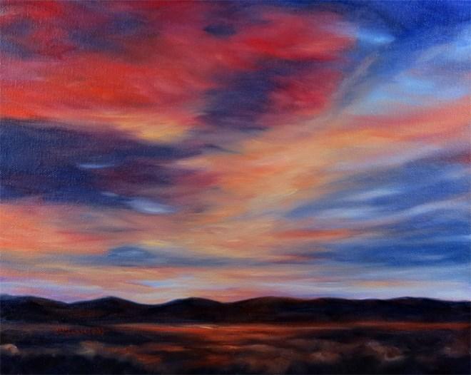 """""""Gotta Glow"""" original fine art by Carol Zirkle"""