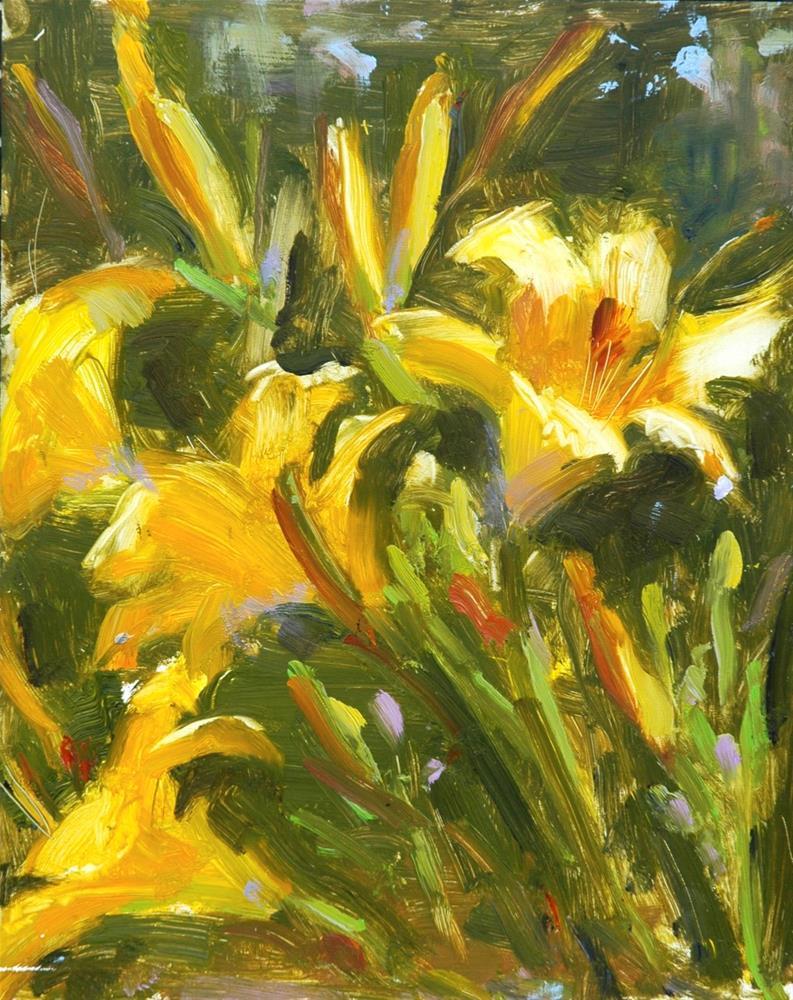 """Mark Twain's Garden"" original fine art by Johanna Spinks"