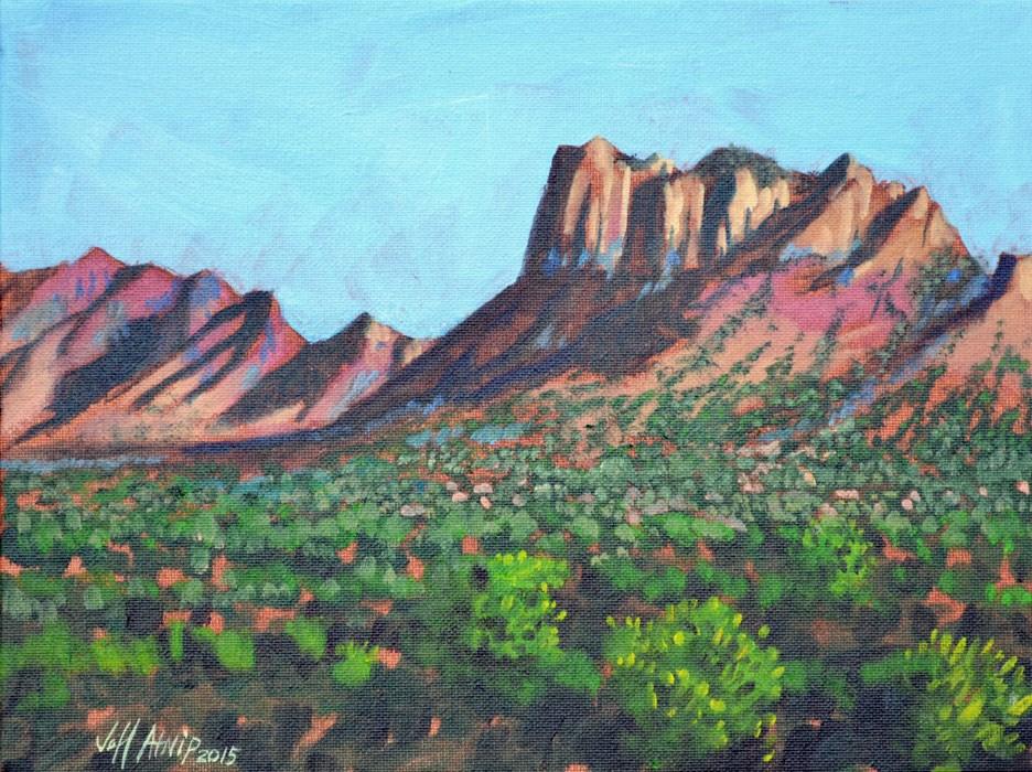 """Across the Basin"" original fine art by Jeff Atnip"