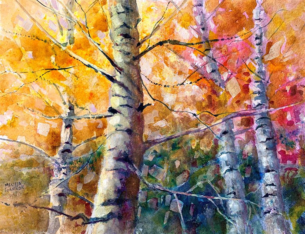 """Woodland Fantasy"" original fine art by Melissa Gannon"