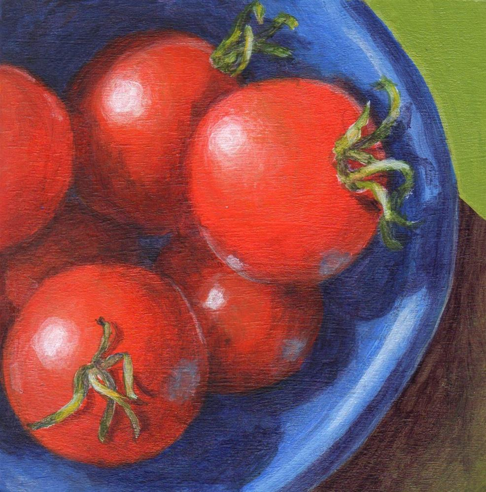 """Little Gems"" original fine art by Debbie Shirley"