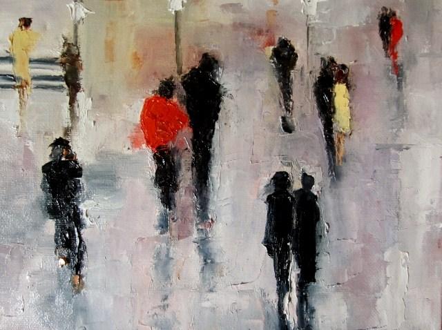 """Both of us"" original fine art by Astrid Buchhammer"
