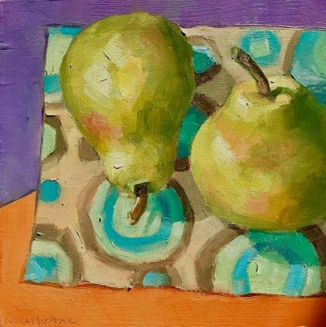 """groovy pair"" original fine art by Nora MacPhail"