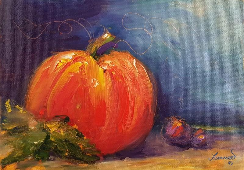 """Harvest 2"" original fine art by Francine Dufour~Jones"