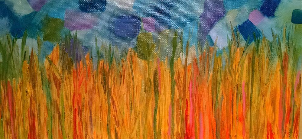 """Painted sky"" original fine art by Kathy Fleming"
