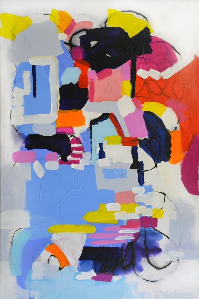 """""""Message in a Bottle"""" original fine art by Pamela Gatens"""
