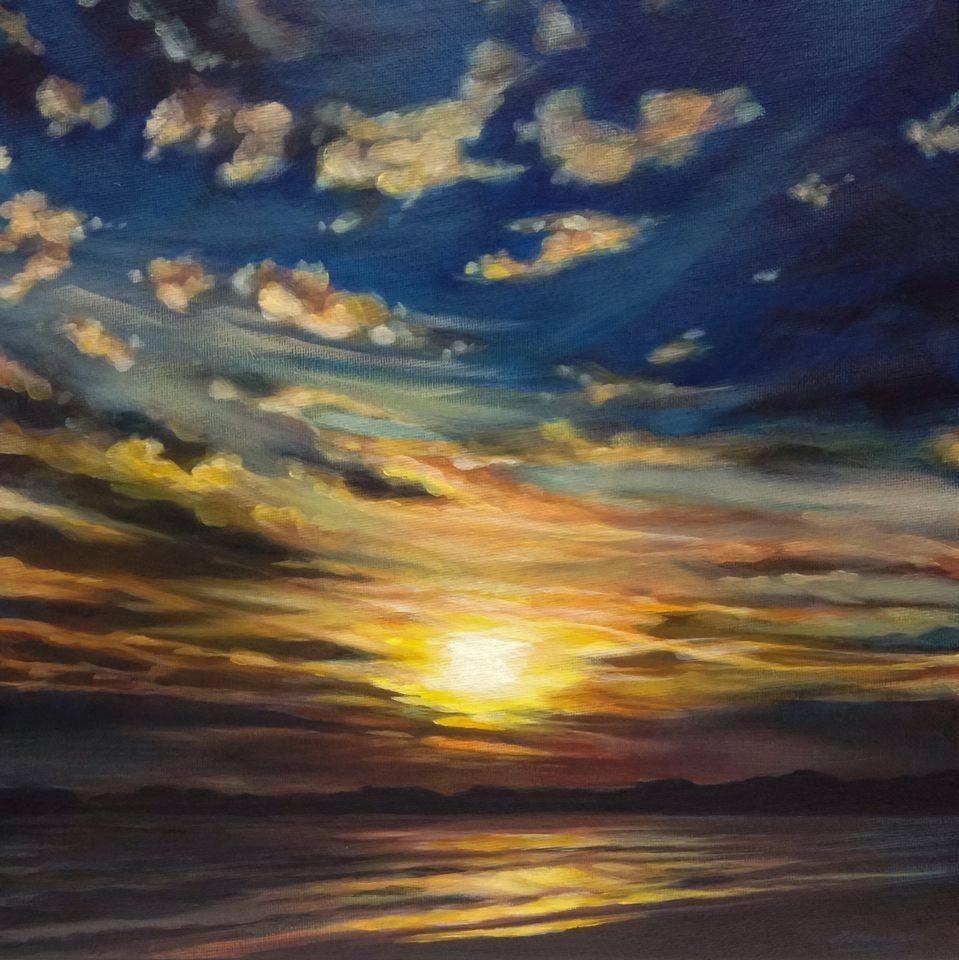 """""""Ablaze"""" original fine art by Angela Hardy"""