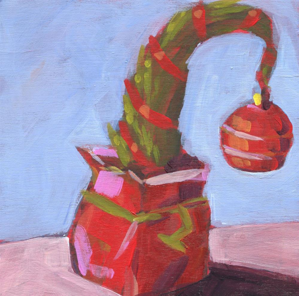 """0647: Grinch Tree"" original fine art by Brian Miller"