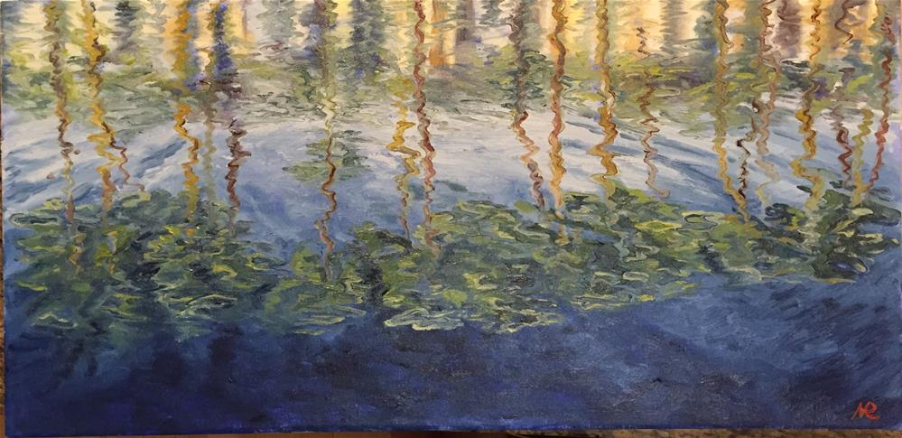 """Reflections"" original fine art by Natasha Ramras"