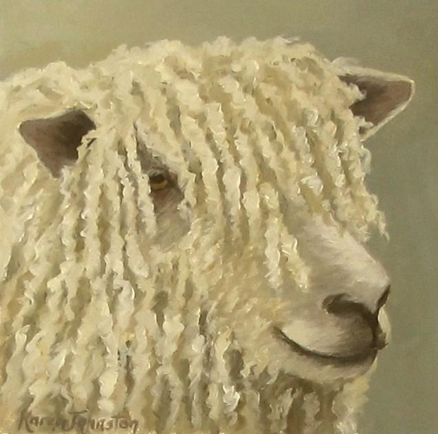 """I Love My Dreads"" original fine art by Karen Johnston"