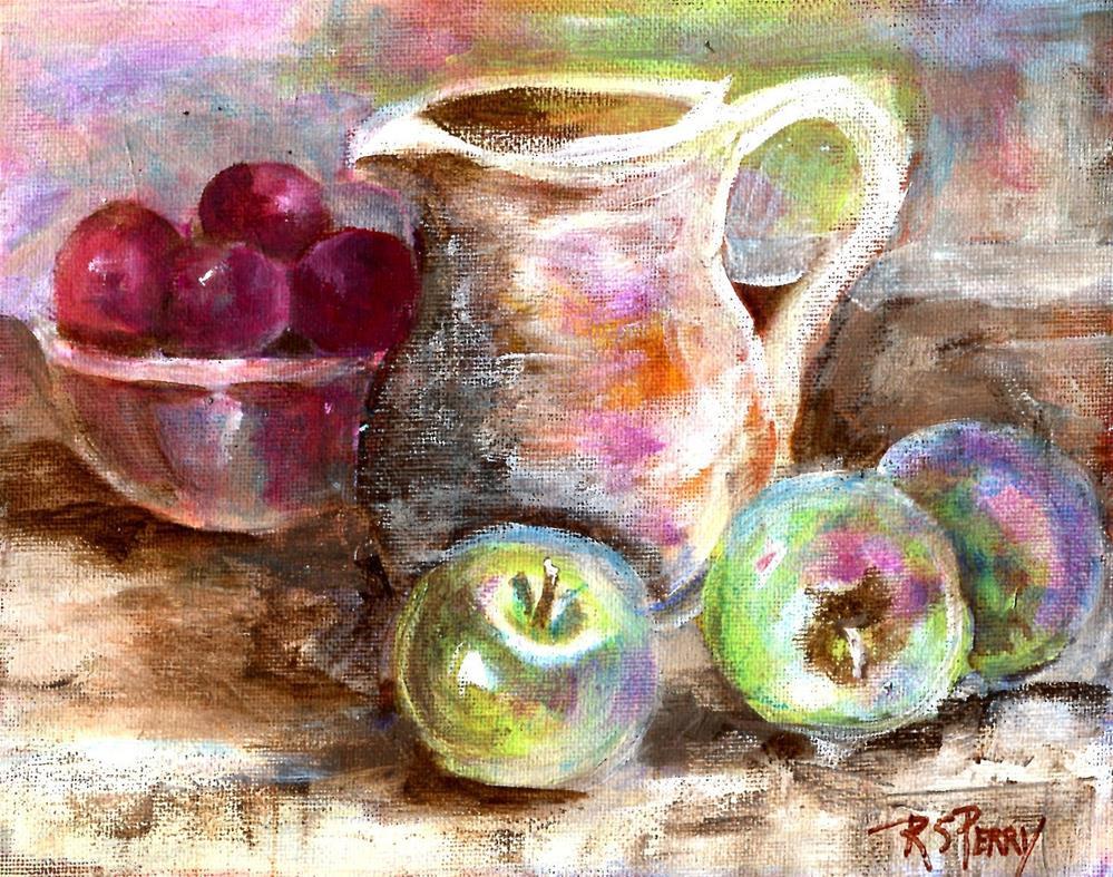 """Celebration"" original fine art by R. S. Perry"