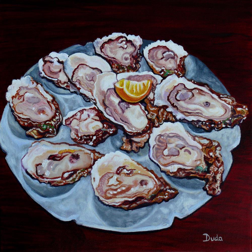 """""""Apalachicola Fresh"""" original fine art by Susan Duda"""