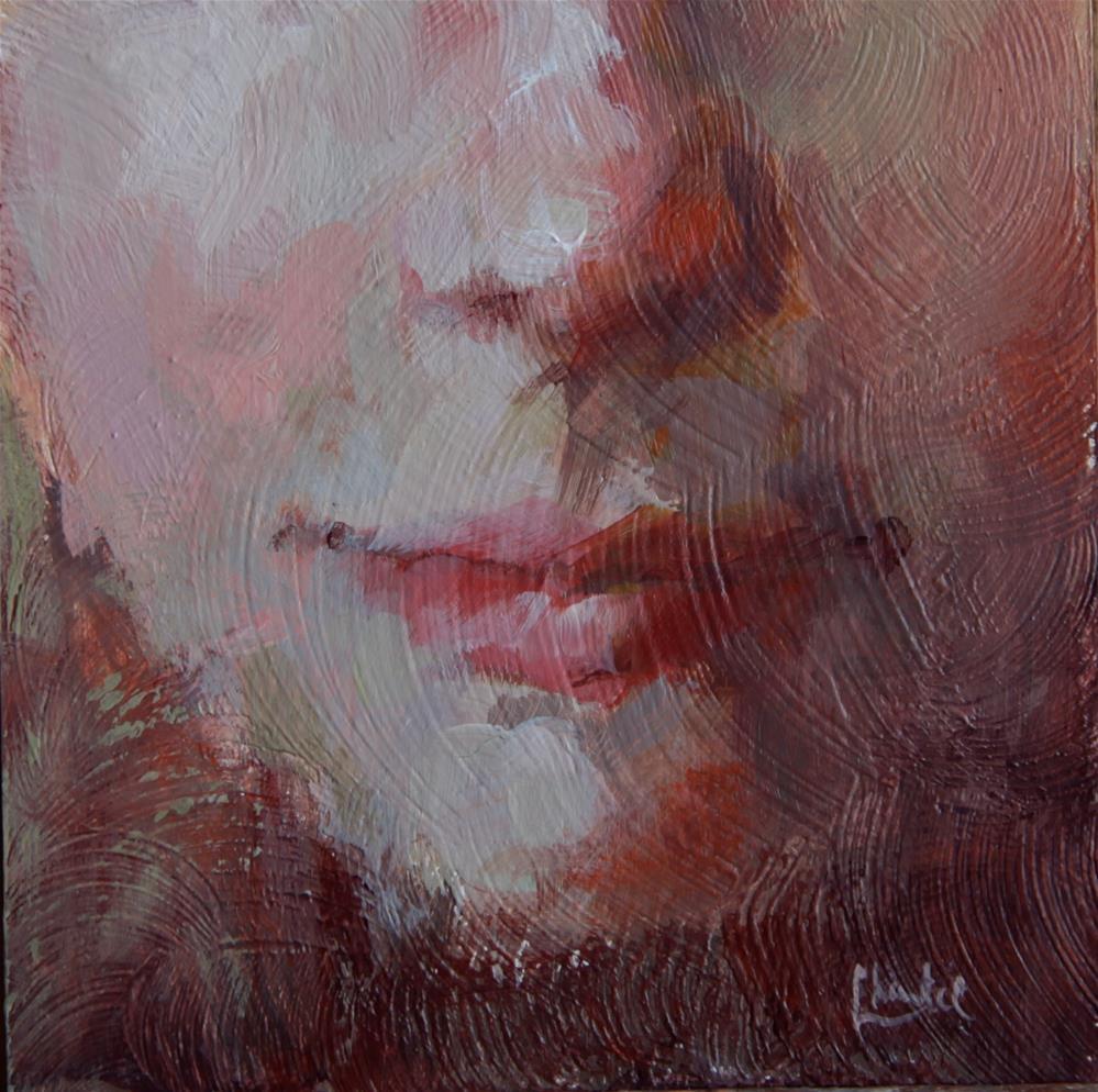 """The Expression I Wear"" original fine art by Chantel Barber"