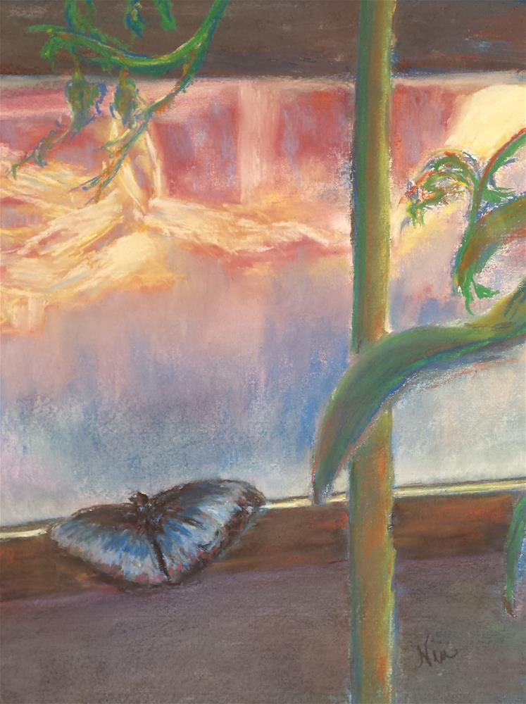 """Wistful"" original fine art by Niki Hilsabeck"