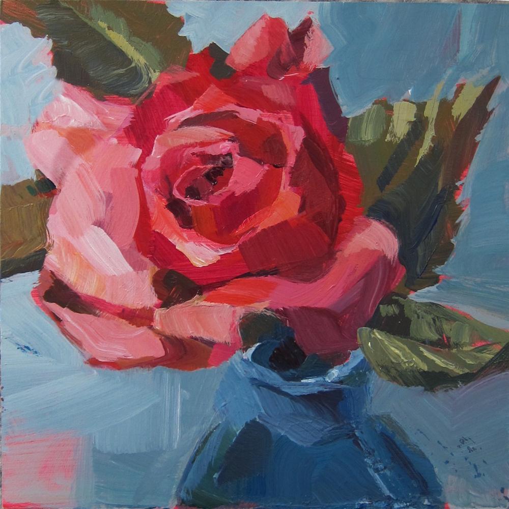 """Rose 2"" original fine art by Patti Mollica"