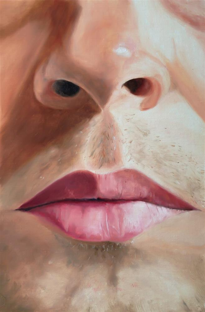 """""""Nose and Mouth"""" original fine art by James Coates"""