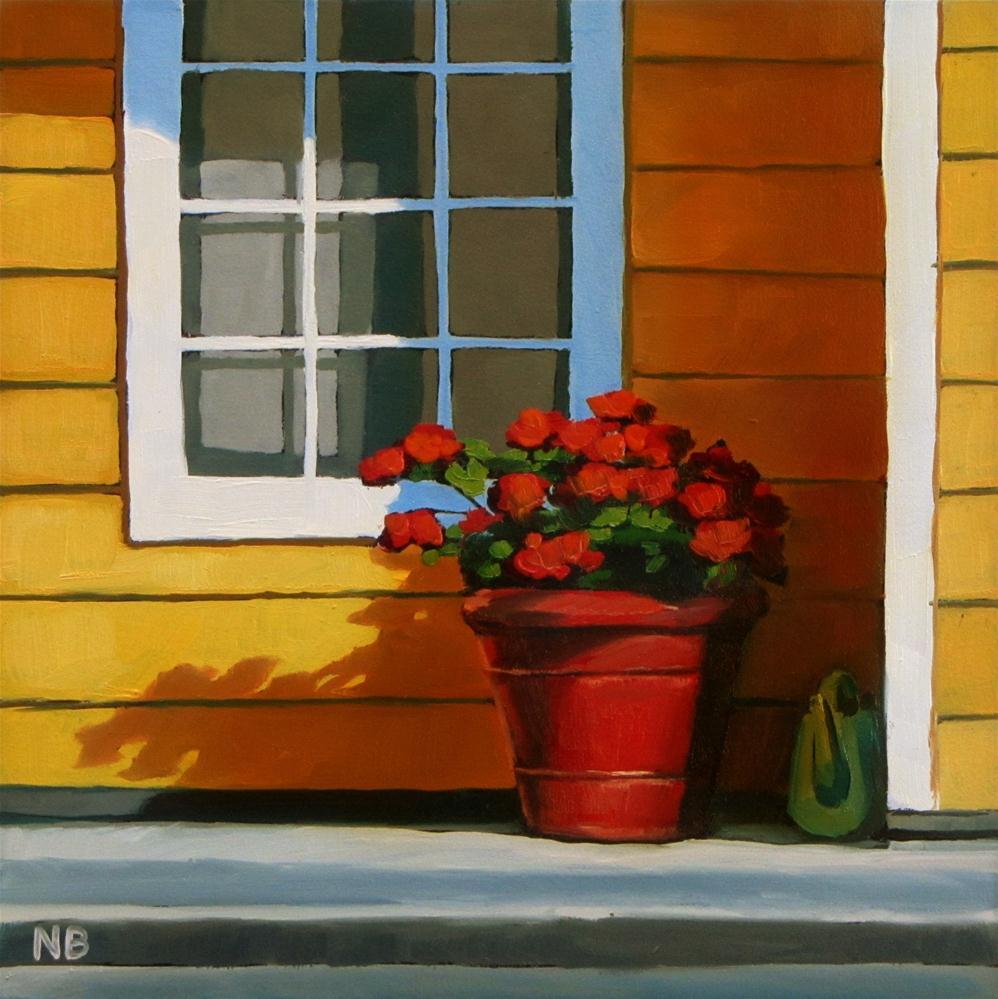 """Window Shade"" original fine art by Nora Bergman"