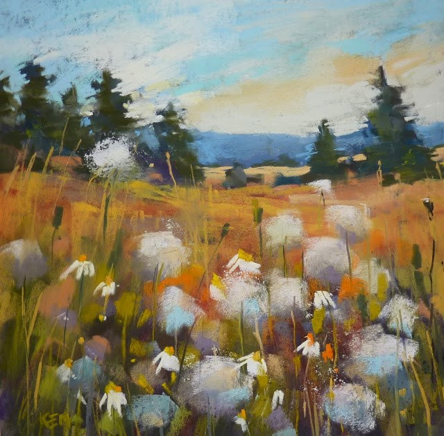 """Packing for a Plein Air Trip part 3....the Pastels"" original fine art by Karen Margulis"