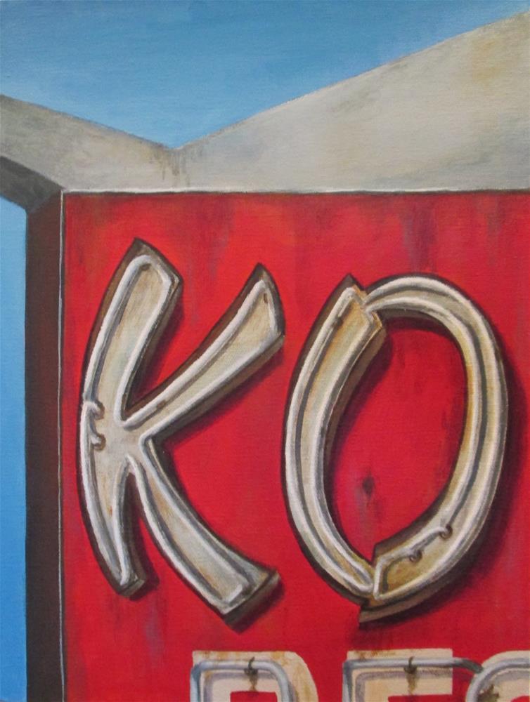 """""""KO"""" original fine art by Debbie Shirley"""