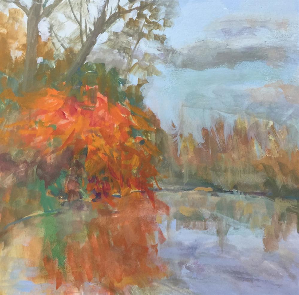 """Celebrate Three"" original fine art by Pamela Sweet"