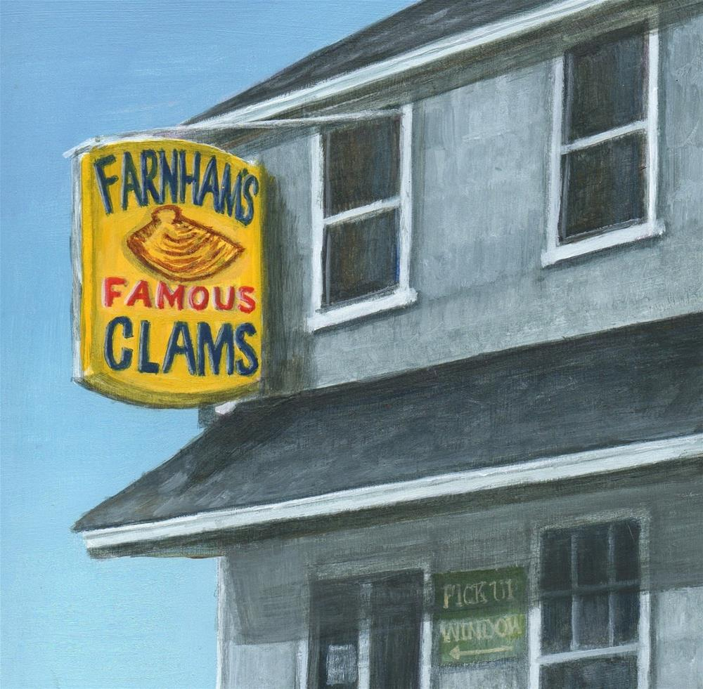 """JT Farnhams"" original fine art by Debbie Shirley"