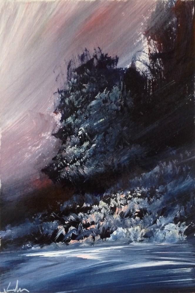 """From the Dark"" original fine art by David Kuhn"