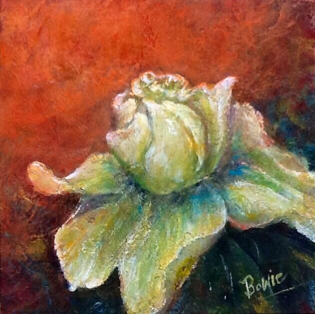 """True Confession"" original fine art by Maureen Bowie"
