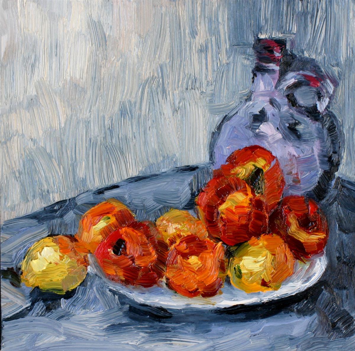 """Cezanne I am not!"" original fine art by Kristen Dukat"